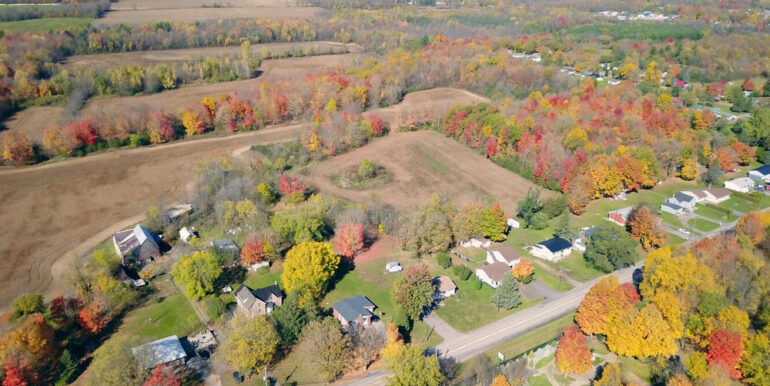 18-3530-2 Aerial 1 - house and property