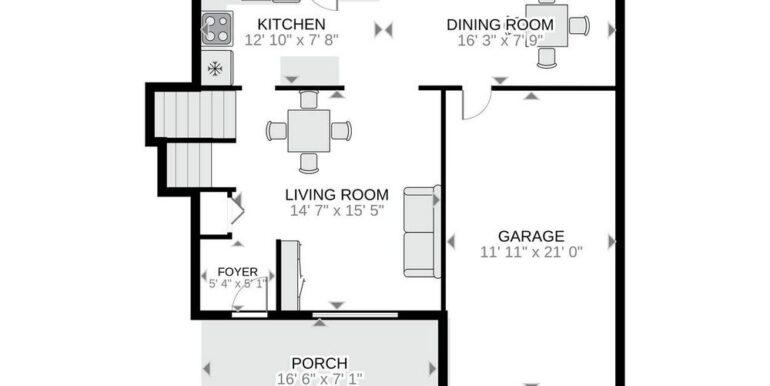 26-648-26 Main Floor Floor Plan