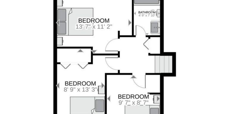 27-648-27 Upper Level Floor Plan