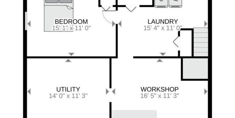 02-2208-21 Floor Plan - Lower Level